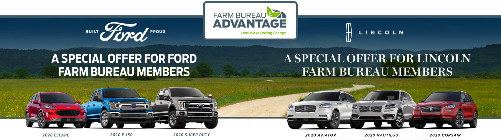 Farm Bureau Advantage. How we're driving change.